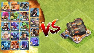 ALLE TRUPPEN vs. DOPPELKANONE! || CLASH OF CLANS || Let