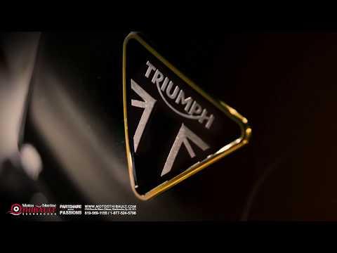 La nouvelle Thruxton TFC  de Triumph
