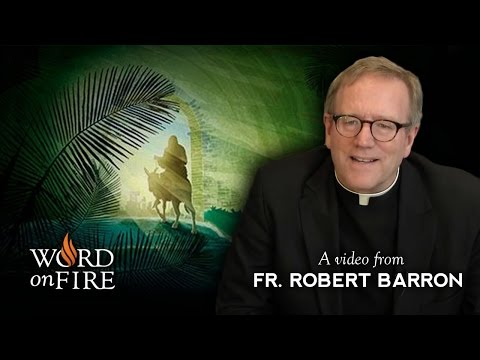 Bishop Barron on Palm Sunday