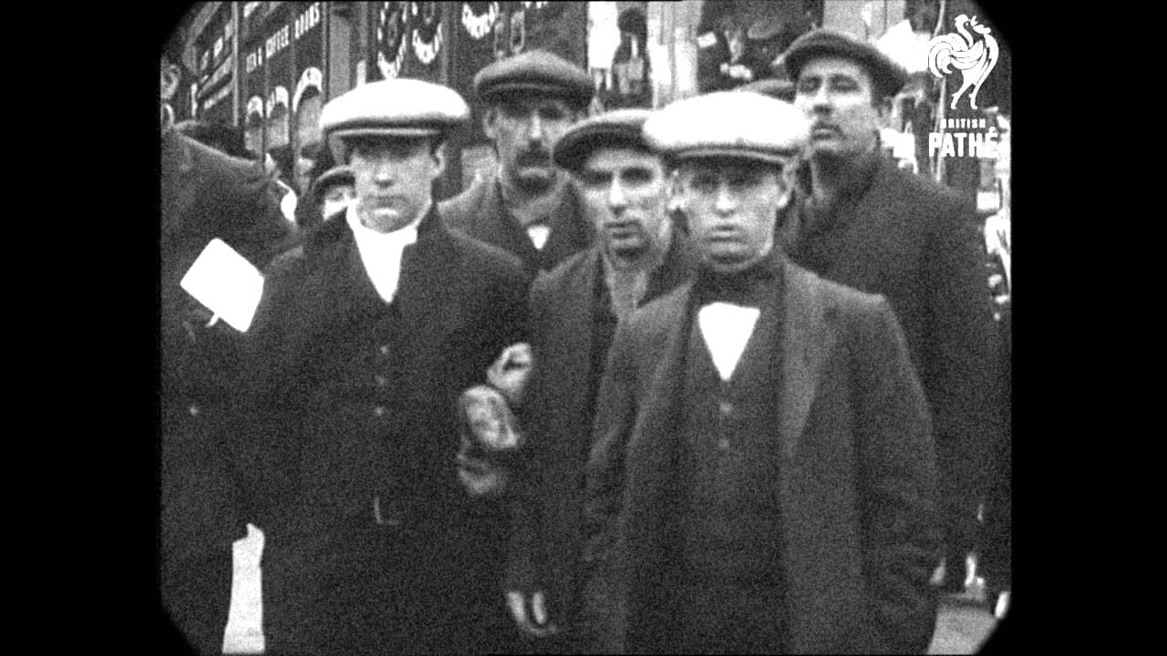 April 1912 - Liverpool Street Scenes (speed corrected w/ added sound)