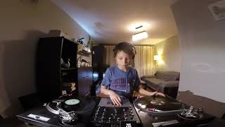 9-Year-Old Filip - House Vinyl DJ Set