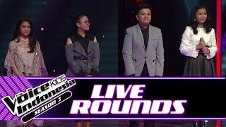 Baixar Tidak Terpilih, Kontestan Ini Tetap Tersenyum   Live Rounds   The Voice Kids Indonesia Season 3 GTV
