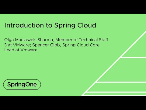 Introduction to Spring Cloud