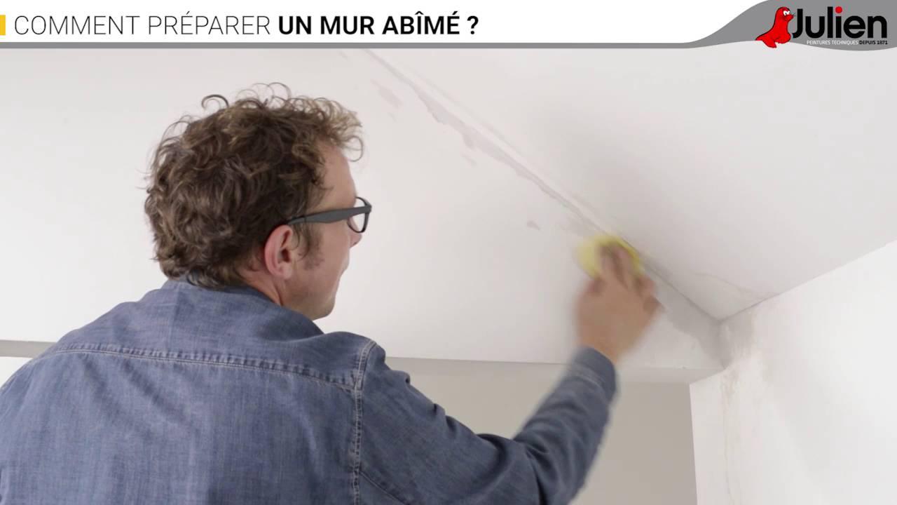 Merveilleux Comment Préparer Un Mur Abîmé ?   Peintures Julien Nice Look