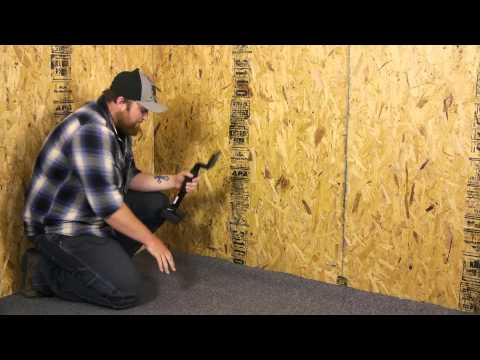 How to Flatten or Stretch Installed Carpet : Carpet Installation & Maintenance