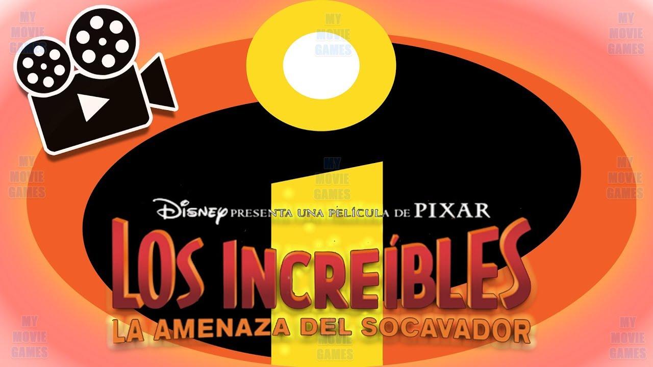 Los Increibles 2 La Pelicula Completa Del Juego En Español Disney Pixar Mymoviegames Youtube