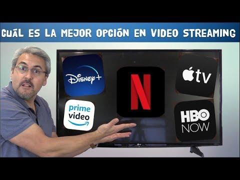 Cuál Es El Mejor?  Netflix, Disney+  AppleTV+, Amazon Prime O HBO Now?