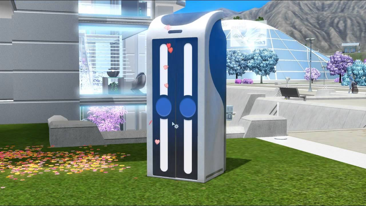 The Sims 3 Into Future All In One Bathroom Woohoo