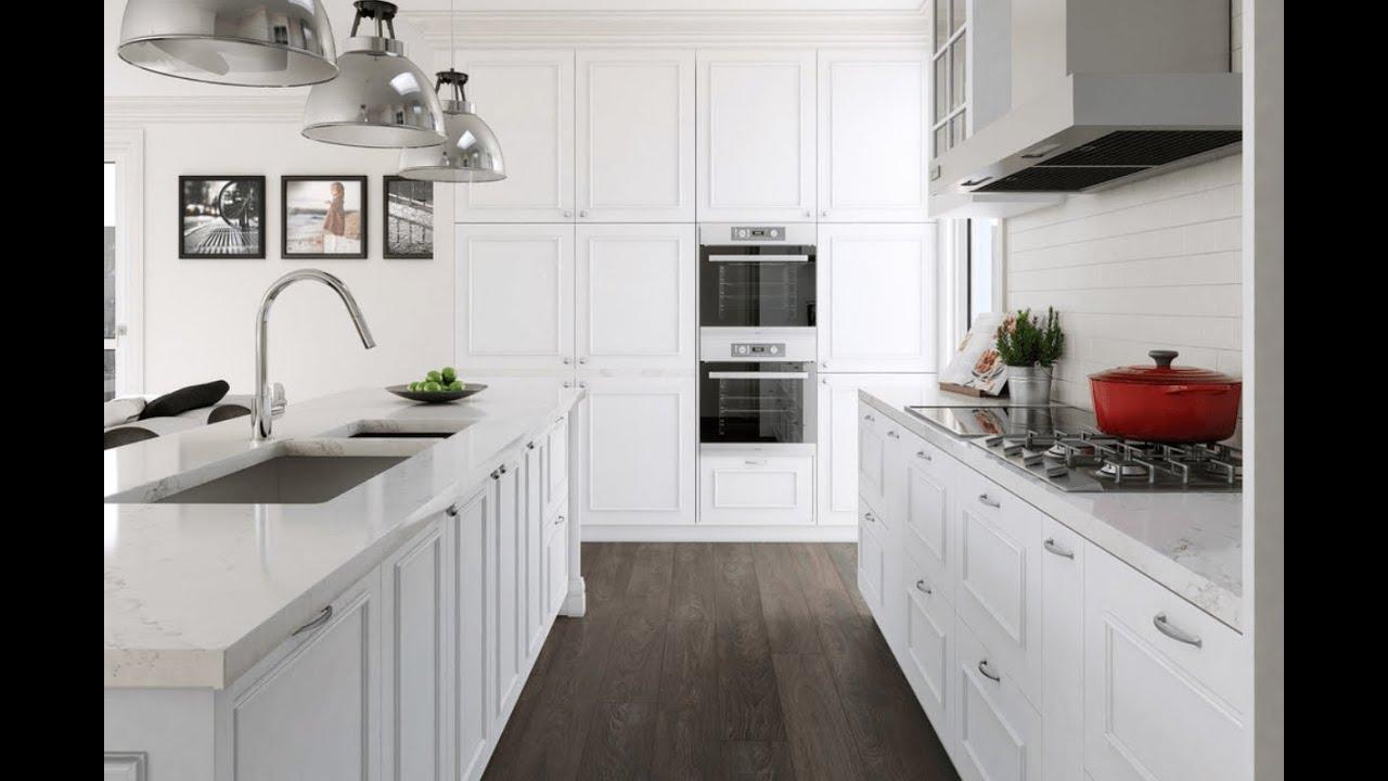 White Kitchen Countertop Ideas