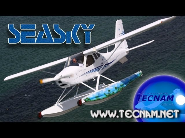 TECNAM SeaSky amphibious light sport aircraft.