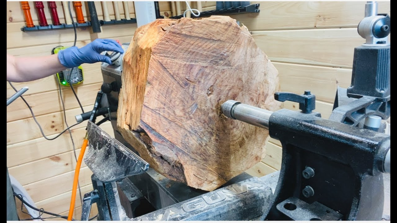 """Woodturning a Burl Bowl: """"Imperfection"""""""