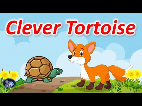 Clever Tortoise   Kids Short Story   Moral Story For Kids    Panchatantra Story   Fox Story