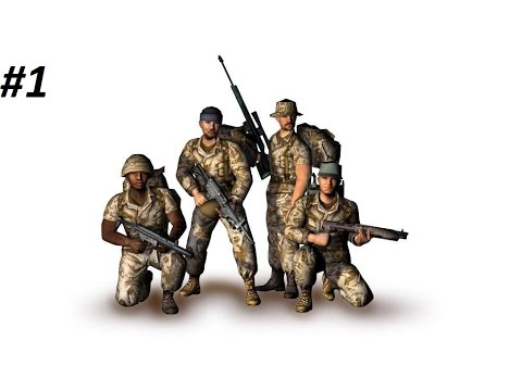 Conflict: Desert Storm: Walkthrough on Hard - Mission 1 - The Invasion of Kuwait