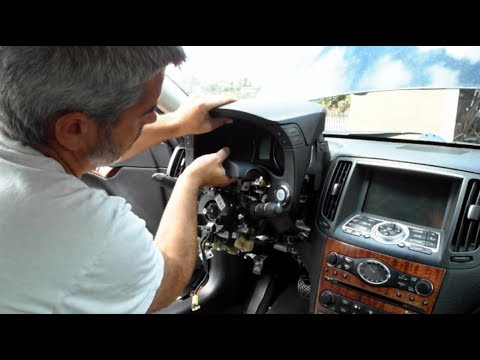 G37 Instrument Cluster Removal And Modification
