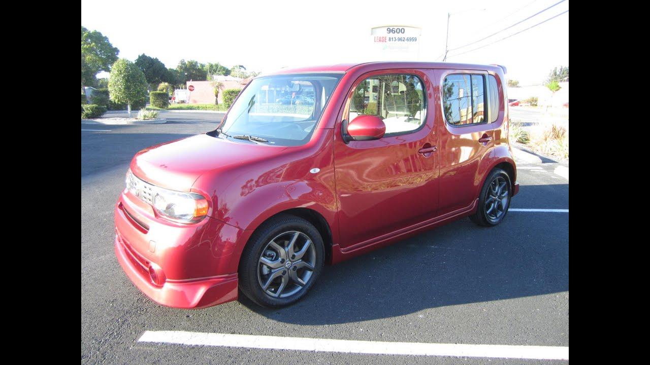 Sold 2009 Nissan Cube Krom One Owner Meticulous Motors Inc Florida