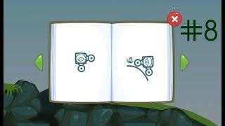 Игра ЭНГРИ БЕРДЗ Плохие свинки Angry Birds Bad Piggies 8 Невероятно сложный уровень