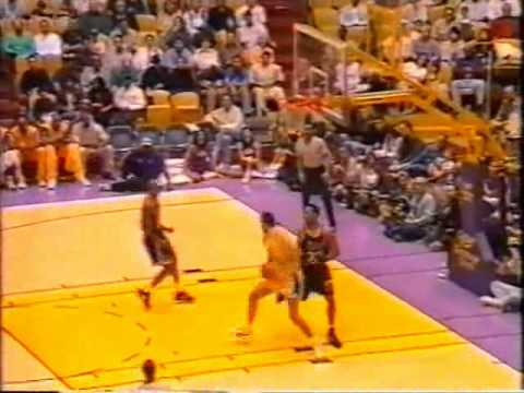 NBA Action top 10 first half of 95-96 - YouTube