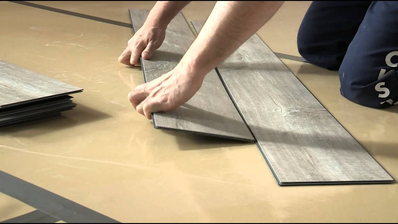 zwevend installeren van een quick step livyn vloer youtube