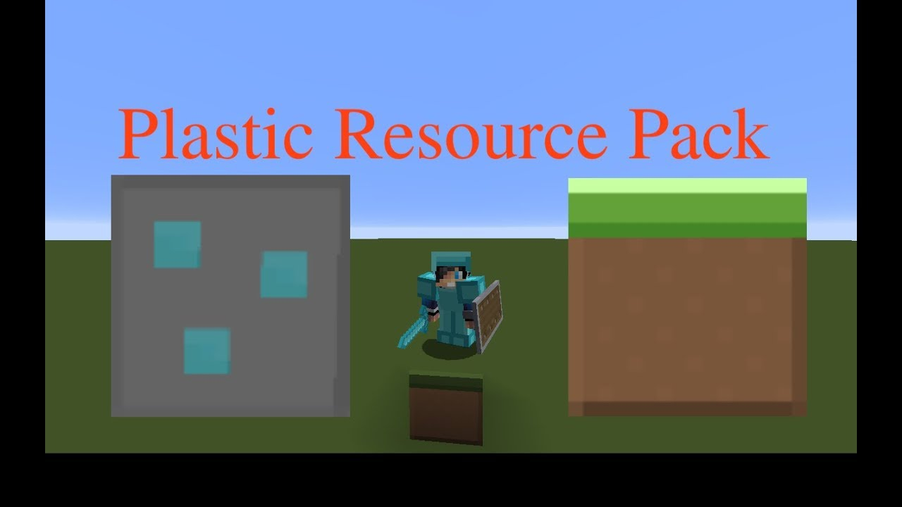Minecraft Plastic Resource pack for 1.12+ Link to download ...