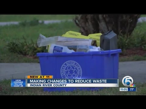 Making changes to reduce waste