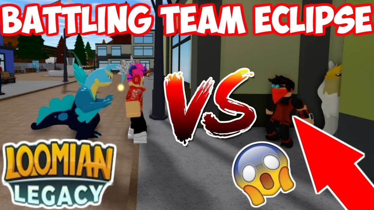 Download BATTLING TEAM ECLIPSE IN LOOMIAN LEGACY! (THEY ARE BACK?) *SKIT*