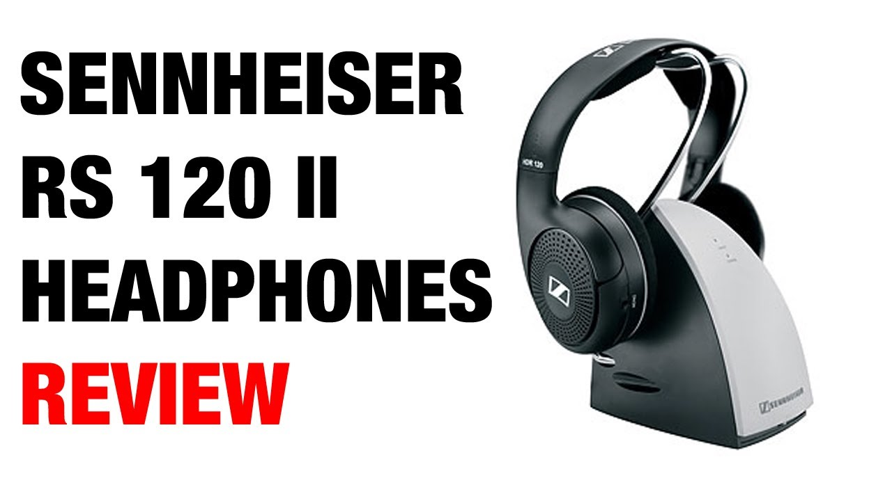 e14a522e7bc Sennheiser RS 120 II Wireless Headphones Review - YouTube