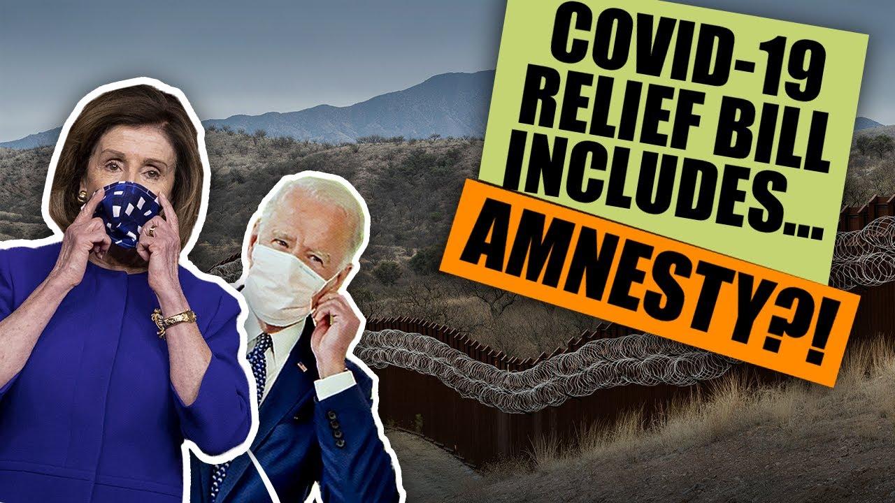 PELOSI & HER PROGRESSIVE PLAYGROUND: New COVID-19 Stimulus Bill Includes Amnesty & Pot Deale