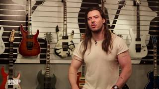 ESP Guitars: Andrew W.K.'s Custom Taco Guitar