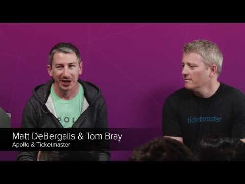 Fireside Chat: GraphQL Architecture at Ticketmaster - Tom Bray and Matt DeBergalis