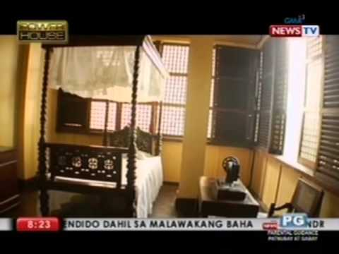 """Powerhouse"" tours the Rizal Shrine - the former home of national hero Jose Rizal"