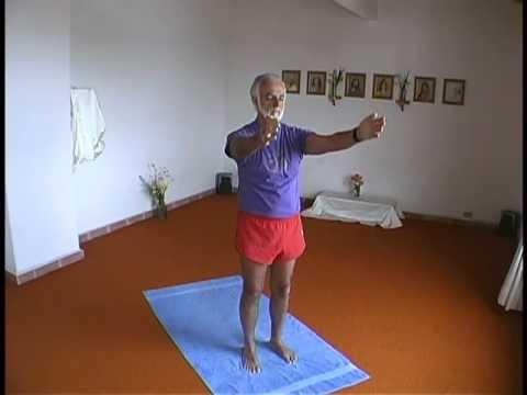 a very slow very easy yoga sun salutation  youtube