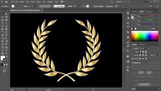 Comment Créer une Couronne de Laurier dans Adobe Illustrator