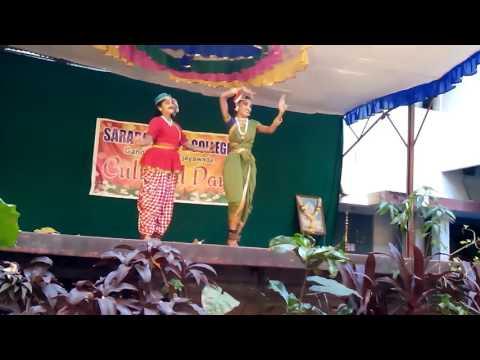 Mama bangari mama dance by bhavya sri and thraya gayathri