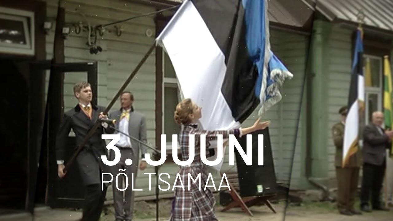 Eesti lipp 135 Põltsamaal (reklaam)