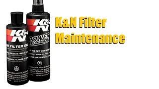 How to Clean a K&N Performance air filter cleaning and re-oiling/ recharging | AnthonyJ350
