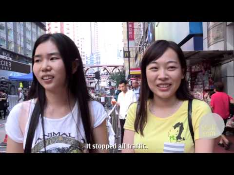 What do mainland tourists think about Occupy Central?