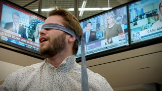 Can a blindfold help block out the news?
