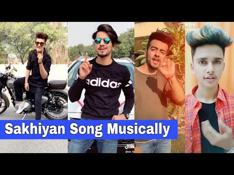 Sakhiyan Song Musically | Mrunal, Manjul, Mr. Faizu, Sanket, Lucky Dancer, Naveen Sharma