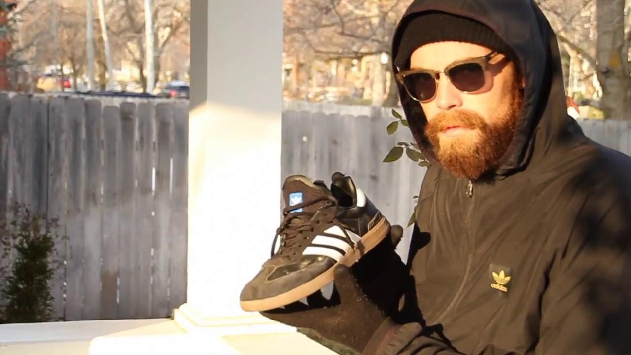 Blindside Adidas Samba ADV Wear Test - YouTube a29c7f0f9