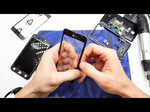 LG F5 Optimus P875 disassembly   LCD and digitizer change   4K