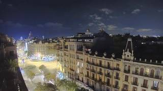 Hotel Room View Timelapse No.2: Barcelona (Brinno TLC 120)