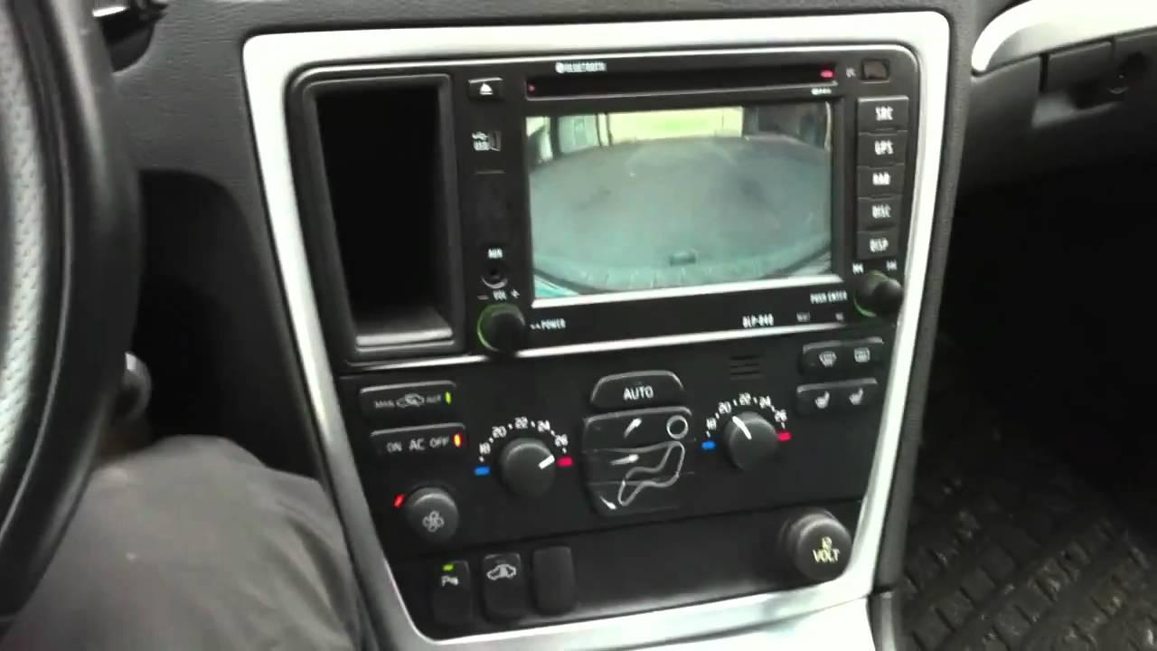 Reversing BLP-840 Volvo Headunit - YouTube