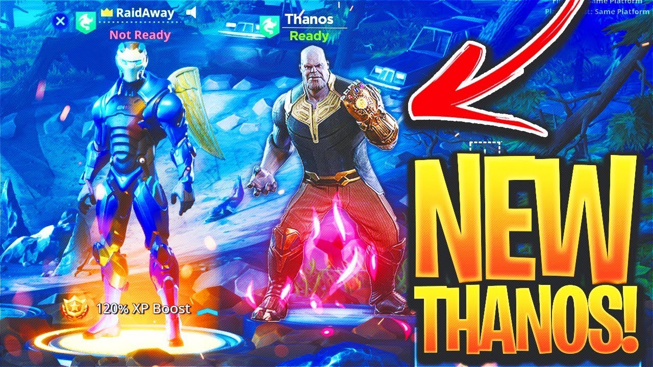 New Thanos Gameplay In Fortnite New Infinty Gauntlet Ltm
