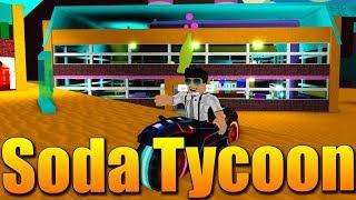 I'm BUILDING a soda FACTORY! 😱😂😂 Roblox Soda Tycoon