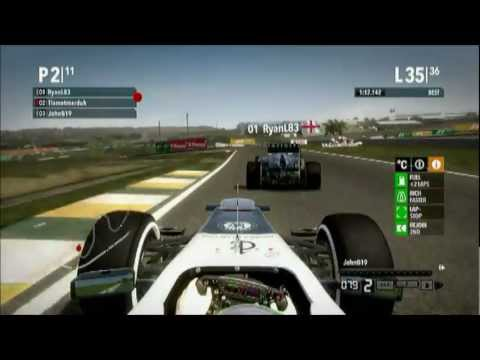 F1 2012 Epic Online Battle @ Brazil - Apex Racing League Social Race