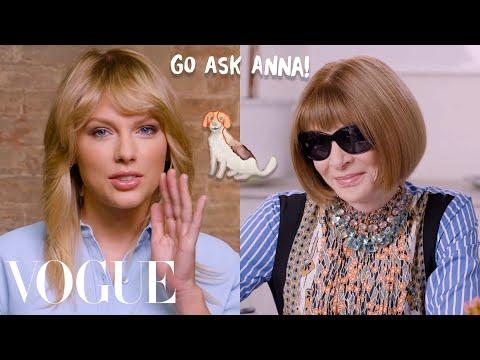 Taylor Swift Asks Anna Wintour 8 Questions   Go Ask Anna   Vogue