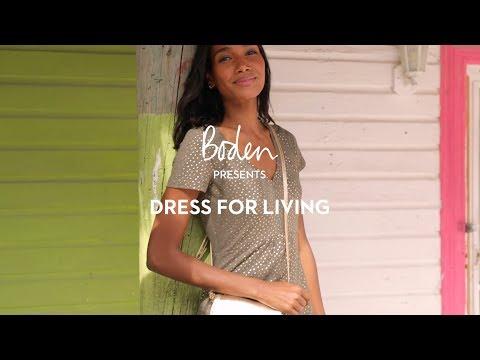 Boden SS19 Lookbook: Dress for living | Swimwear and dresses