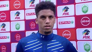 Absa Premiership | AmaZulu FC v Maritzburg United | Post-match interview with Rushine de Reuck