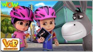 Download Vir The Robot Boy | Hindi Cartoon For Kids | Vir Vs Cosmic Wolf Power | Animated Series| Wow Kidz Mp3 and Videos