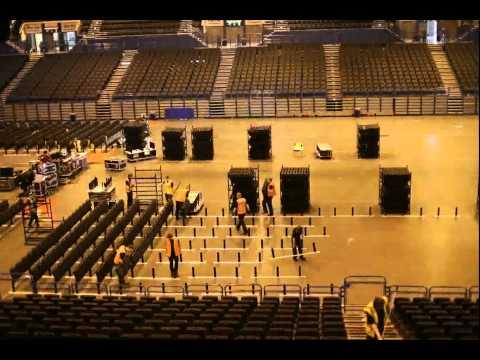 NIA (Barclaycard Arena) Birmingham - Temporary Gridlock System